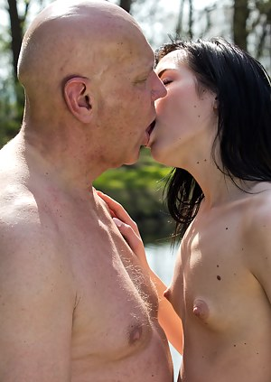 Take of your pants grandpa so I can suck your cock right now