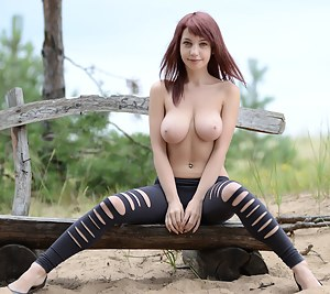 Teen doll strips all her clothes in the park and only the camera can see what beautiful breasts and shapes she had hidden.