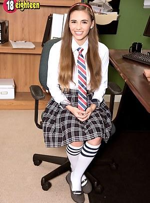Fuzzy Schoolgirl